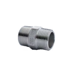 Stainless Steel Screw-in Pipe Fitting, Hex Nipple, STN Type