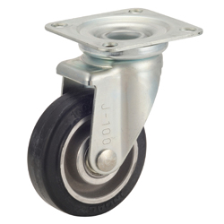 Traction Trolley Caster, TR-AWJ Model, Aluminum Core Type, Includes Rotating Fitting