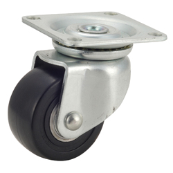 Casters for Heavy Loads, FP-WJ Model, Nylon Wheeled Model with Swivel Bracket