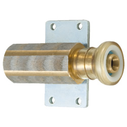 J One Quick-2 Socket with Female Threads and Flange Plate