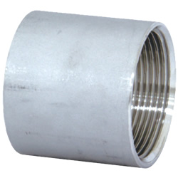 Stainless Steel Screw-in Pipe Fitting, Straight Socket