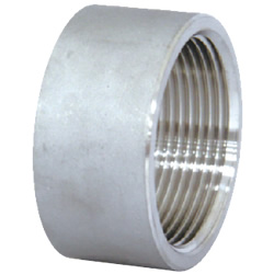 Stainless Steel Screw-in Pipe Fitting, Tapered Half Socket