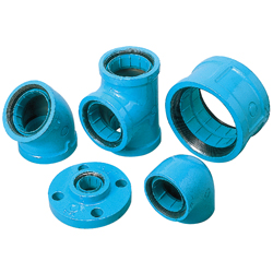Pipe-End Anticorrosion Fitting for Water Supply Dual-Use Type, Core Fitting, C Core, 10K Flange