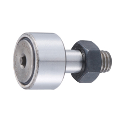 Hex socket head cam follower CF type with seal cylindrical wheel rim