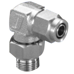 Junron Stainless Fitting US2 Series Elbow for Flexible Tubes