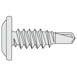 Wafer TH Screws/Drill Screws Bright Chromate