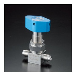 High-Purity Gas Valve - IB Bellows Valve - Straight Type - Manual Operation - 90°