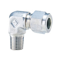 Stainless Steel High Pressure Fittings Half Elbow Union