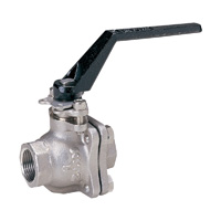 Stainless Steel General Purpose 10K Ball Valves - Screw-in