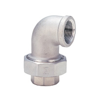 Stainless Steel Screw-in Fitting, Union Elbow