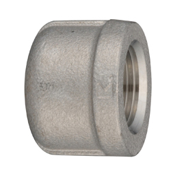 Stainless Steel Screw-in Fitting, Cap