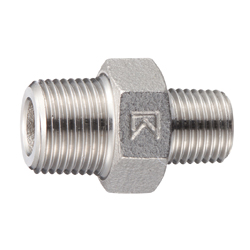 Stainless Steel Screw-in Fitting, Reducing Hex Nipple