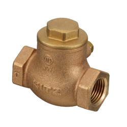 Bronze JIS-Standard 10K Swing Check Valve Screw-in