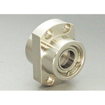 Bearing Holder Set: Spigot Joint Double Type with Retainer Ring Ellipse Shape DEIM