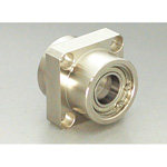Bearing Holder Set: Spigot Joint Double Type with Retainer Ring Square Shape (Stainless steel) DSIS