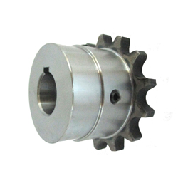 FB chain coupling main body one-side shaft hole machined (former JIS key)