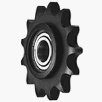 Standard engineering plastic idleless sprocket