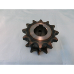 35SD single/double sprocket semi F series with machined shaft holes (New JIS key)