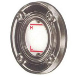 General Purpose Round Oil Gauge KF Type (Flange Type)