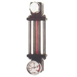 Heat Resistant and Chemical Resistance Oil Gauge, Includes Glass Pipe Type Thermometer, KLPD-GT・KLPD-GTS Type