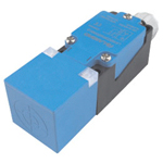 Proximity sensor standard function type, square shape/direct-current 3 wire type.Test distance: 15 mm and 20 mm