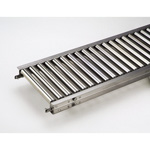 Stainless Steel Roller Conveyor M Series (RS-3810) Diameter ø38.1 × Width 100 - 600