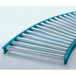 Steel Tapered Roller Conveyor S Series (S-TC1200A) Diameter ø42.7 × Width 790-1190