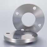 Stainless Steel Pipe Flange Slip-On Welded Type Plate Flange Flat Face JIS10K, SUSF304