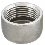 "Stainless Steel Screw-in Pipe Fitting, Cap ""C"""