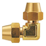 Copper Pipe Fitting, Fitting for Flared Copper Pipes, Flared Elbow