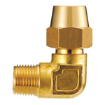 Copper Tube Fittings, Fittings for Flared Type Copper Tube, Flared Type One Side Threaded Elbow