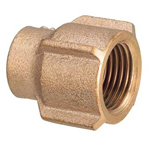 Copper Tube Fitting, Copper Tube Fitting for Hot Water Supply, Copper Tube Water Faucet Socket (Rotation Prevention Type)