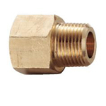 Auxiliary Material for Piping/Fitting/Plumbing, Fitting for Water Supply Piping, Brass Inner / Outer Screw Sockets