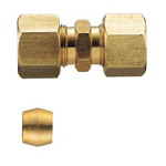 Copper Tube Fitting, Abacus Bead Ring Fitting for Copper Tube, Socket with Abacus Bead Ring Included