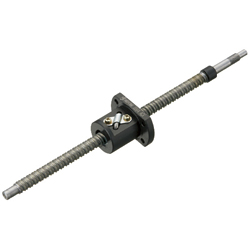 Rolled Ball Screws Standard Nut - Shaft Dia. 15; Lead 5, 10, 20 - Accuracy Grade C7, C10