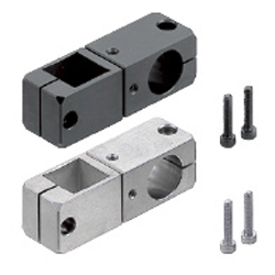 Strut Clamps - Square / Round Hole, Rotation