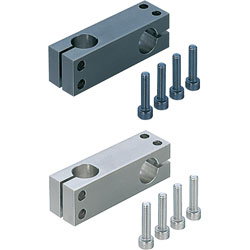 Strut Clamps - Equal Dia., Perpendicular Configuration, Hole Pitch Selectable