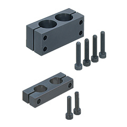 Strut Clamps - Equal Dia., Parallel Holes, Pitch Selectable
