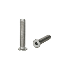 Screws with Through Hole - Extra Low Head Cap
