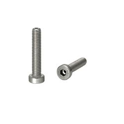 Screws with Through Hole - Low Head Cap Screws