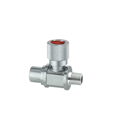 Compact Ball Valves/Brass/Knurled/PT Male/PF Female