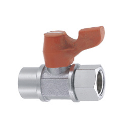 Compact Ball Valves/Brass/PT Tapped/PT Tapped