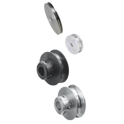 Pulleys for Round Belts - Set Screw Type