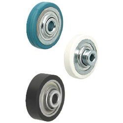 Rubber and Urethane Lined Wheels for Conveyors