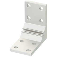 For 5 Series (Slot Width 6mm) Aluminum Frames - Thick Brackets - For 2 Slots