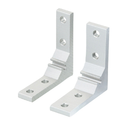 For 5 Series (Slot Width 6mm) Aluminum Extrusions - Thick Brackets - For 1 Slot