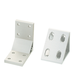 Thick Brackets/ Triangle Brackets - For 2 Slots - For 6 Series (Slot Width 8mm) Aluminum Frames