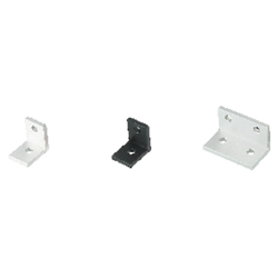 Thin Brackets For 8 Series (Slot Width 10mm) Aluminum Extrusions