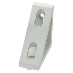 Triangle Brackets - For 1 Slot - For 8 Series (Slot Width 10mm) Aluminum Frames