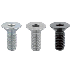 Screws for Aluminum Extrusions - Single Item / Bulk Packages - Hex Socket Flat Head Cap Screws